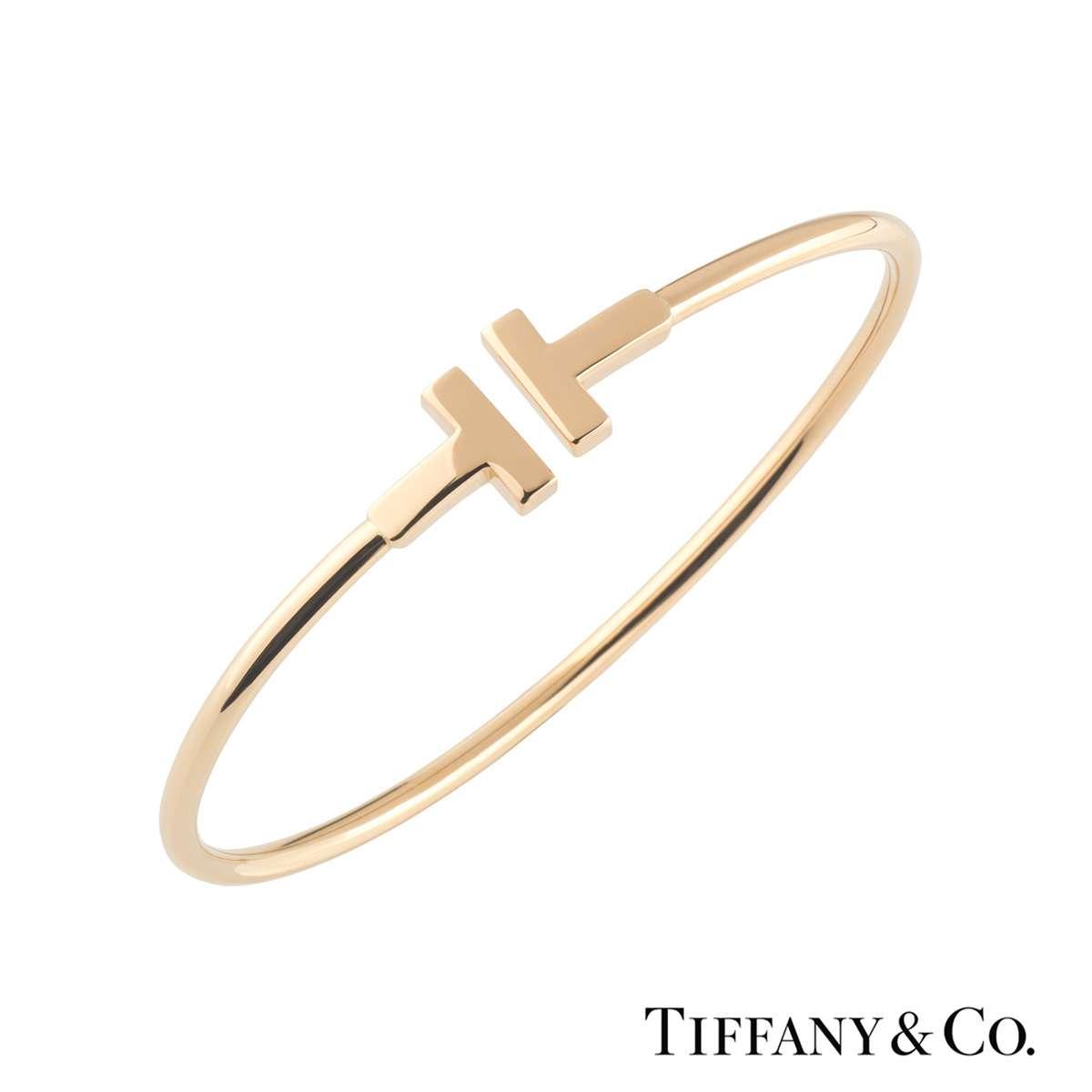 Tiffany Co Tiffany T Wire Bracelet